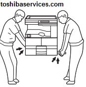 پس از خرید دستگاه از نمایندگی کپی توشیبا مراحل زیر را انجام دهید: