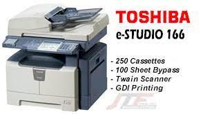 دانلود درایور فتوکپی توشیا TOSHIBA e-STUDIO166